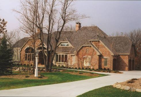 Custom French Country Home • Built by Westridge Builders in Waukesha